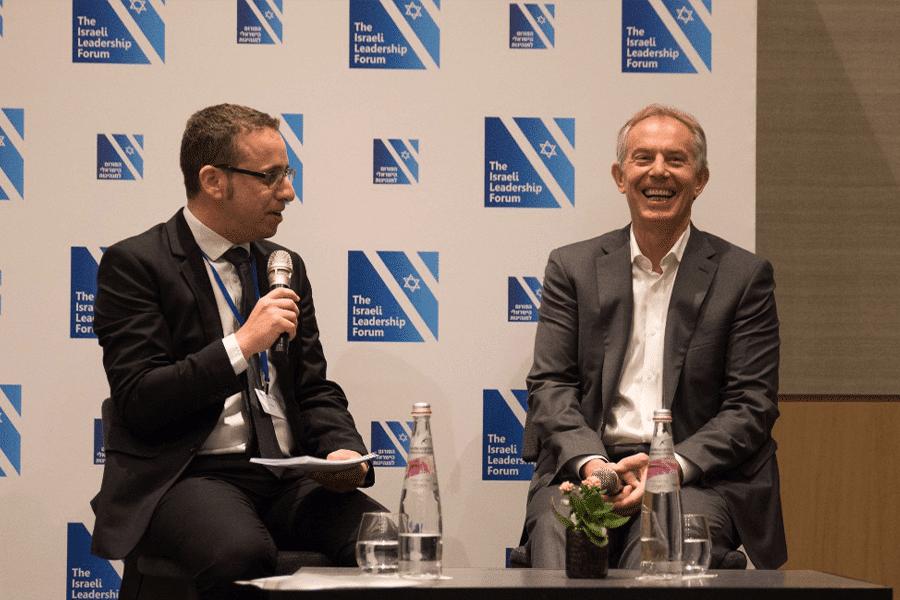 שיחה פתוחה עם ראש ממשלת בריטניה לשעבר, טוני בלייר